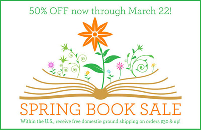 50% of spring book sale - use code SAVE50 at checkout