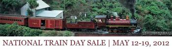 National Train Day Sale