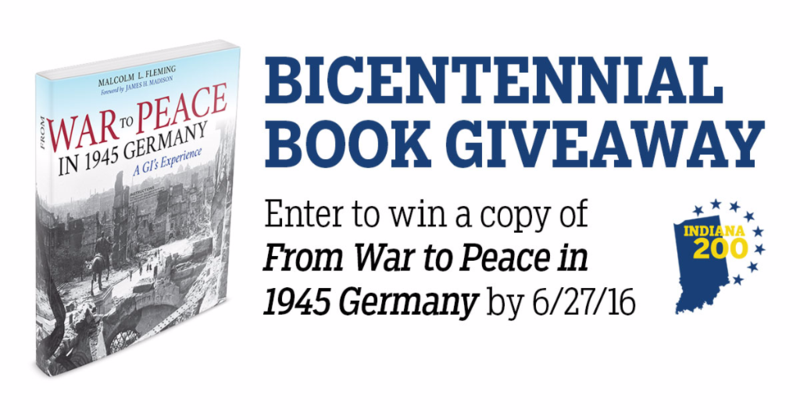 Enter to win a copy of From War to Peace in 1945 Germany by June 27, 2016