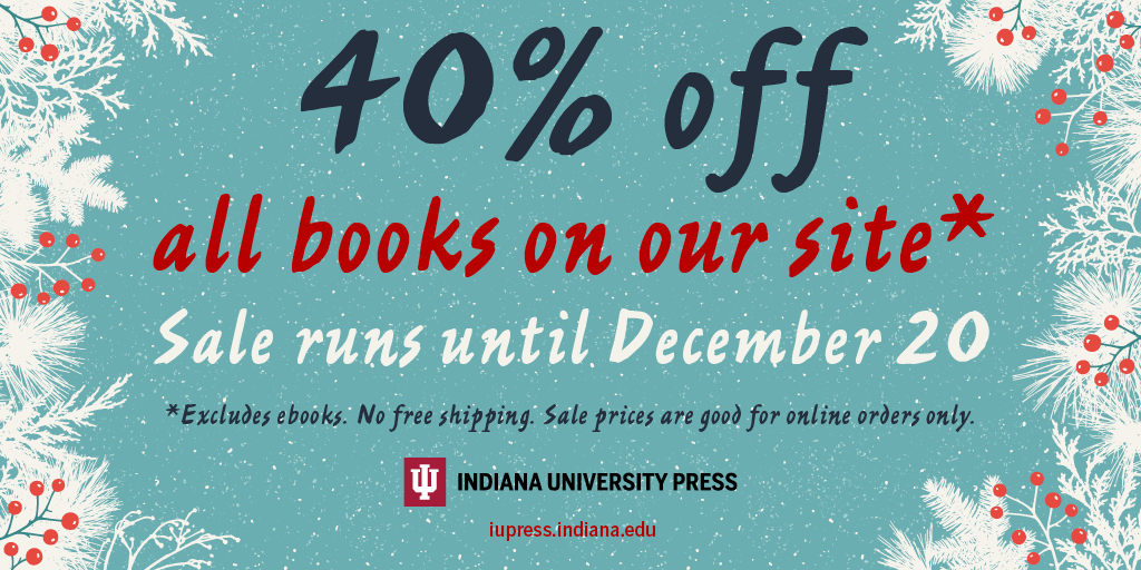 IU Press 2017 Holiday Sale