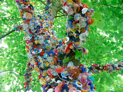 Pacifier-tree