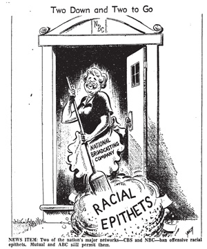 Racial cartoon